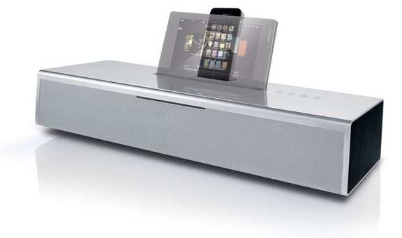 Loewe SoundVision with iPod iPhone dock