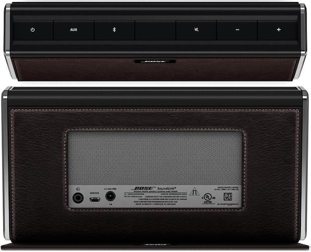 Bose SoundLink Mobile Wireless Speaker - Top and Back