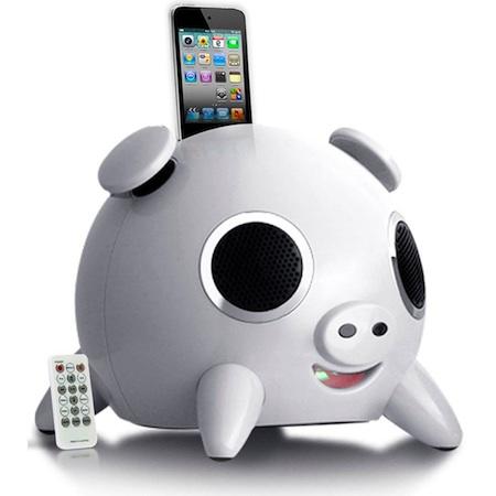 Speakal iHog iPod Speaker Dock - White