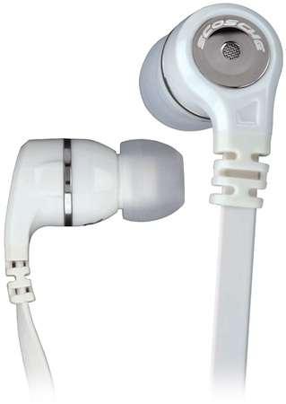 Scosche IEM856m REALM In-Ear Headphones - White