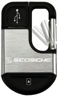Scosche clipSYNC Keychain USB Charging Cable for iPod