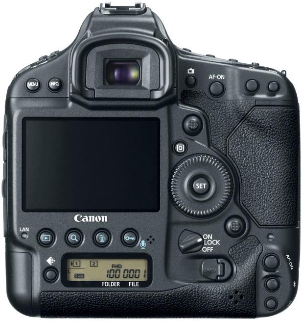 Canon EOS-1DX Digital SLR Camera - back