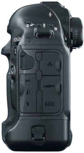 Canon EOS-1D X Digital SLR Camera - side