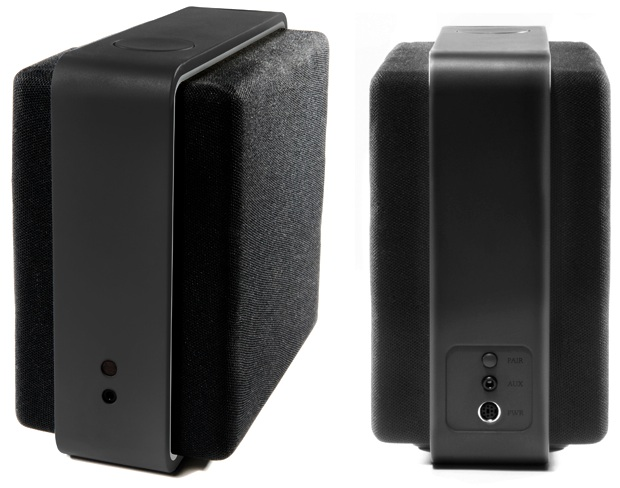 Audyssey Lower East Side Audio Dock Air Speaker - front and back