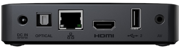 WD TV Live Streaming Media Player - Back