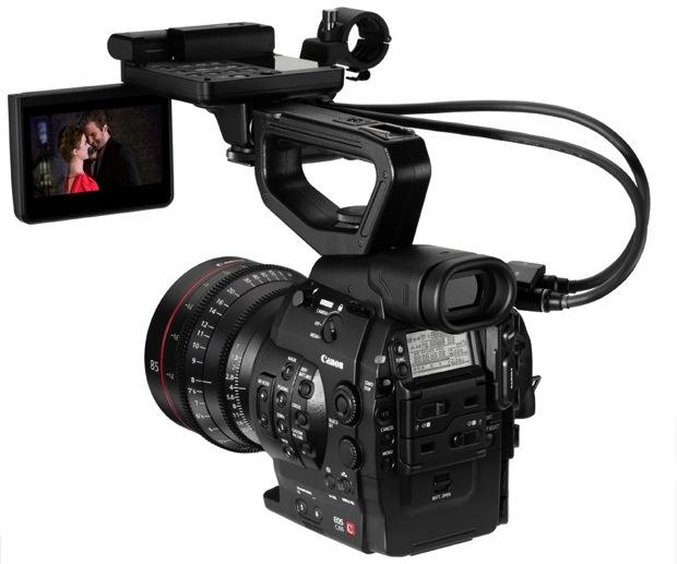 Canon EOS C300 Digital Cinema Camera - Back