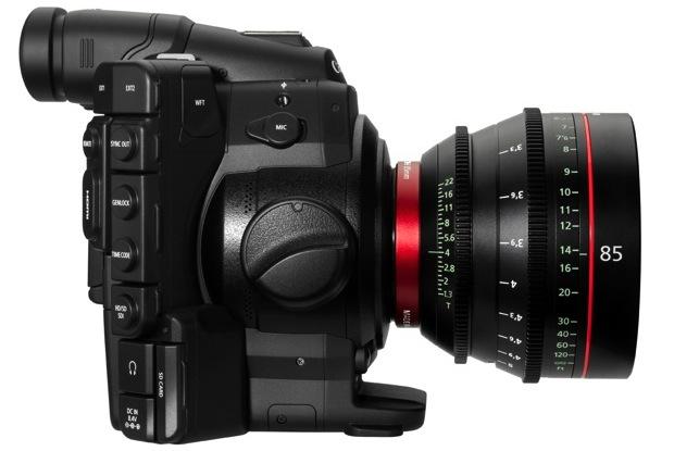 Canon EOS C300 Digital Cinema Camera - Right