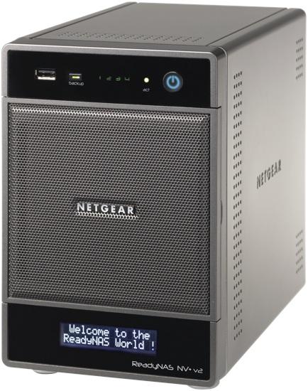 NETGEAR ReadyNAS NV+ v2 Network Storage