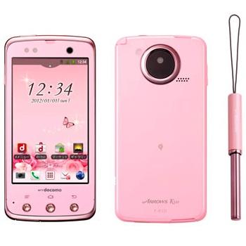 Fujitsu ARROWS Kiss F-03D Smartphone