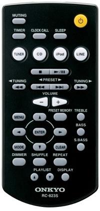 Onkyo RC-8235 remote control for CS-345 Hi-Fi Mini System