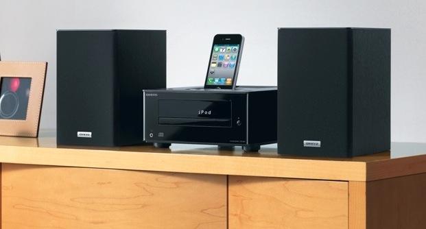 Onkyo CS-345 CD Mini System with iPod Dock