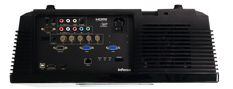 InFocus IN5316HD and IN5318 DLP Projectors - Top