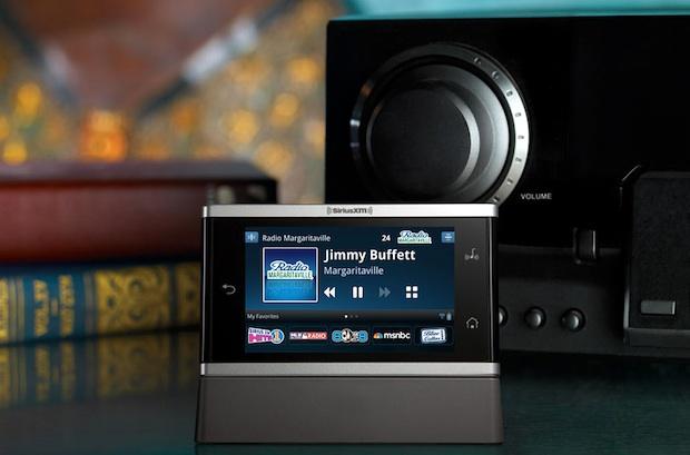SiriusXM Lynx Portable Satellite Radio in home