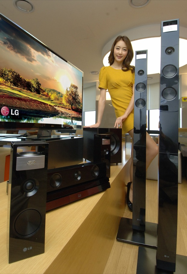 LG BH9420PW Cinema 3D Home Theater System