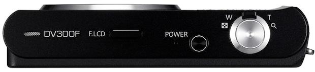 Samsung DV300F DualView Digital Camera - Top