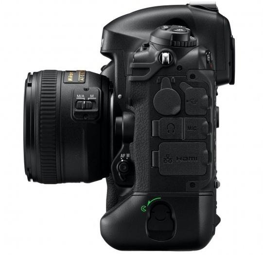 Nikon D4 Digital SLR Camera - left
