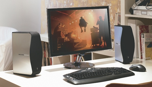 Focal XS Book Multimedia Speakers with PC
