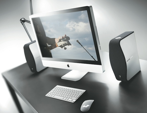 Focal XS Book Multimedia Speakers with iMac