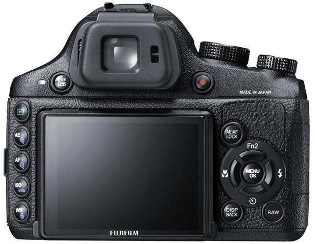 FujiFilm X-S1 Digital Camera - Back