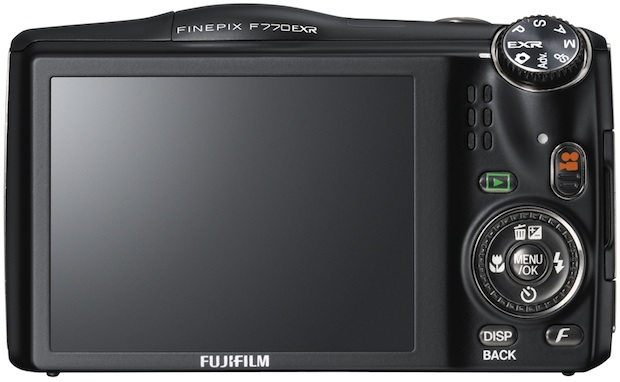 FujiFilm FinePix F770EXR Digital Camera - back