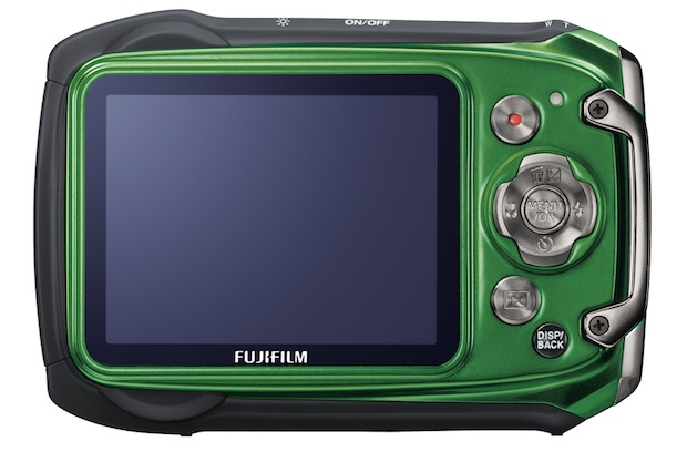 FujiFilm FinePix XP100 Rugged Digital Camera - Back