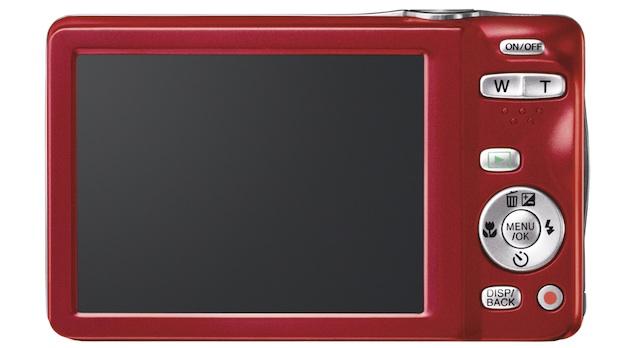FujiFilm FinePix JX580 Digital Camera - back