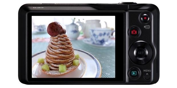 Casio EX-ZR15 Exilim Digital Camera - back