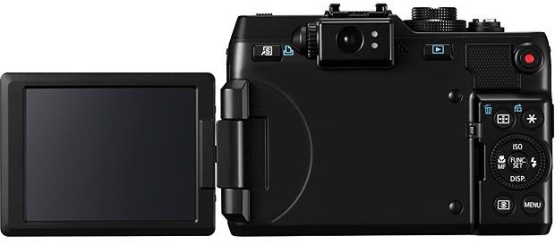 Canon PowerShot G1 X Digital Camera - back
