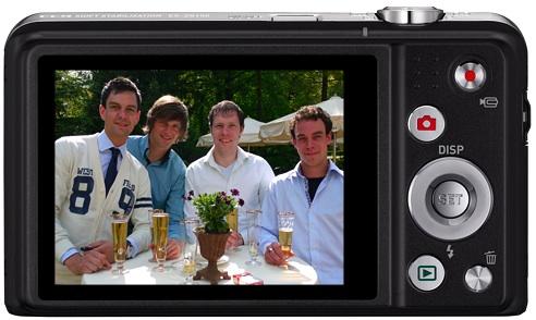 Casio EX-ZS150 Digital Camera - back