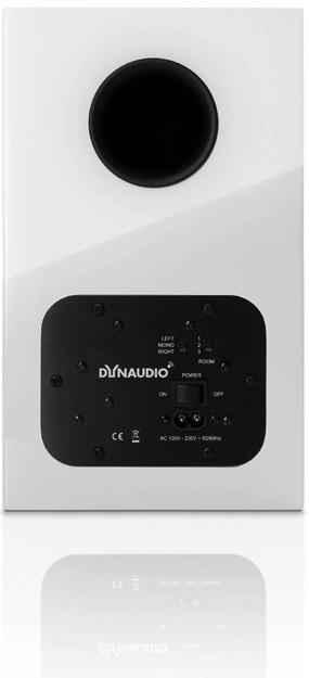 Dynaudio Xeo 3 Wireless Bookshelf Speaker - back