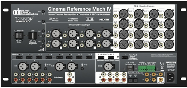 ADA Cinema Reference Mach IV A/V Preamp/Processor - back