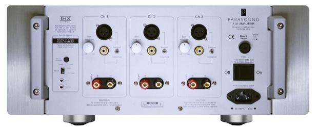 Parasound Halo A 31 THX Ultra2 Power Amplifier