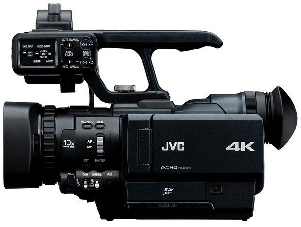 JVC GY-HMQ10 4K Camcorder