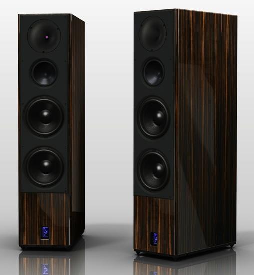 Lansche Audio No. 5.1 Loudspeakers - Macassar Ebony