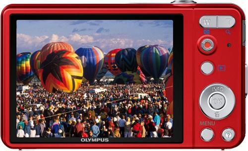 Olympus VG-160 Digital Camera - Back