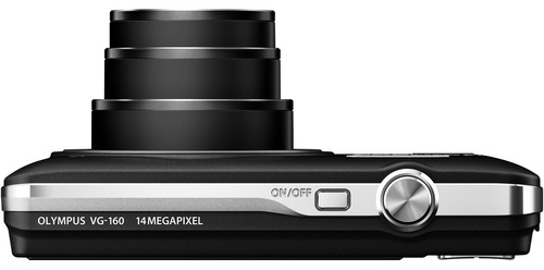 Olympus VG-160 Digital Camera - Top
