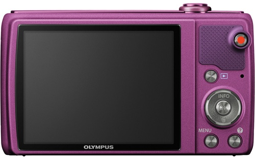 Olympus VR-340 Digital Camera - Back