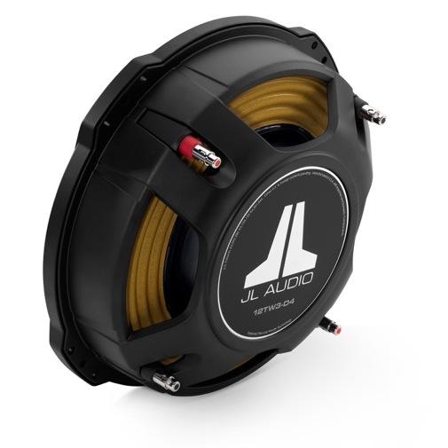 JL Audio 12TW3 Car Subwoofer - Back