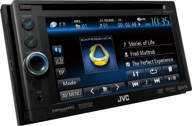 JVC KW-AV60BT Multimedia Head Unit