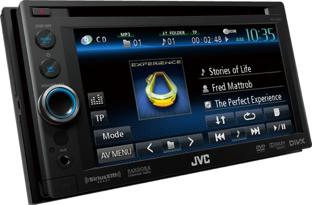JVC KW-AV60 Multimedia Head Unit