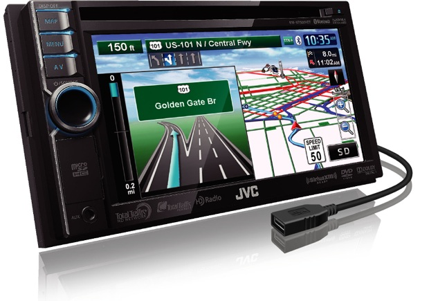JVC KW-NT500HDT Car Navigation Head Unit