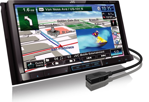 JVC KW-NT700 Car Navigation Head Unit