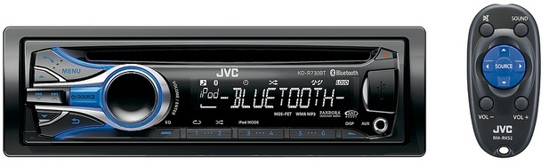 JVC KD-R730BT CD Receiver