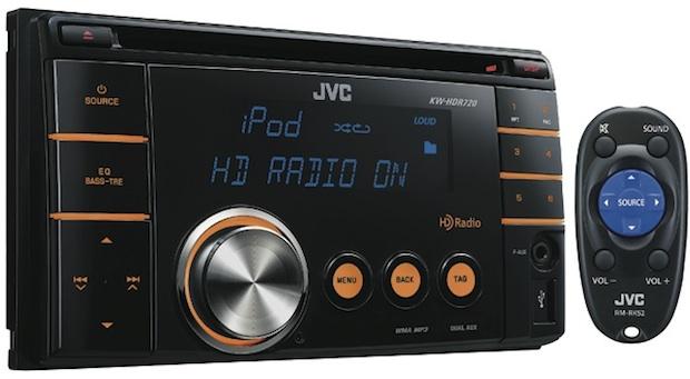 JVC KW-HDR720 2-DIN Car CD Receiver