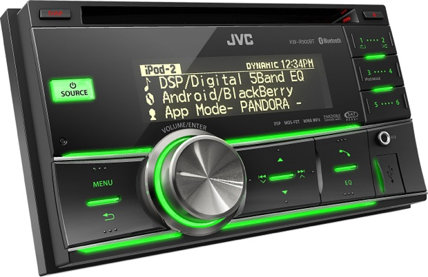 JVC KW-R900BT 2-DIN Car CD Receiver