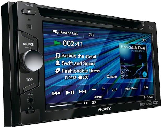 Sony XAV-63 Head Unit