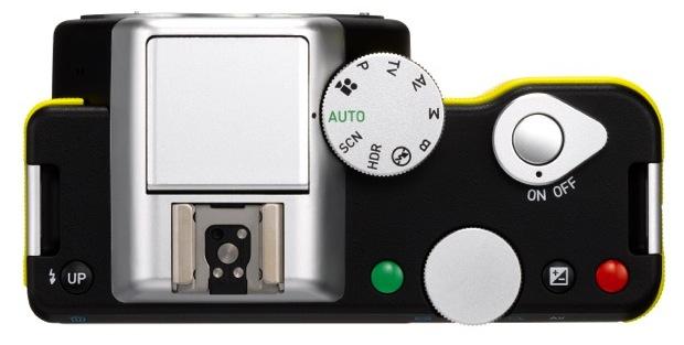 PENTAX K-01 Interchangeable Lens Digital Camera - top