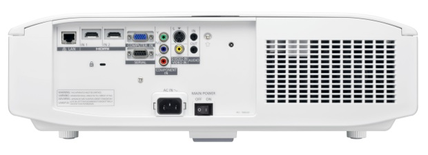 Panasonic PT-LZ370U LCD Projector - Back