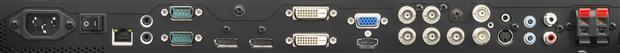 NEC P552 LCD Display - Ports