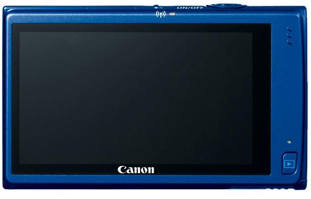 Canon PowerShot ELPH 320 HS Digital Camera - Back